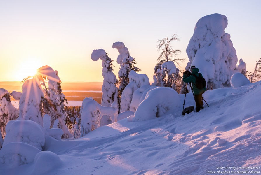 Valtavaara, Finland, photographed in January 2020 by Serhiy Lvivsky, picture 36