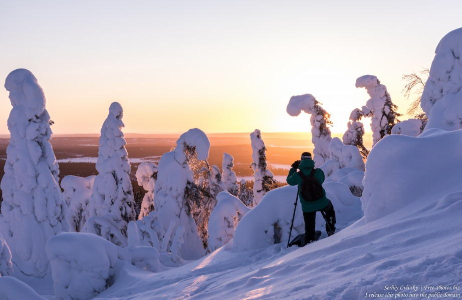 Valtavaara, Finland, photographed in January 2020 by Serhiy Lvivsky, picture 37