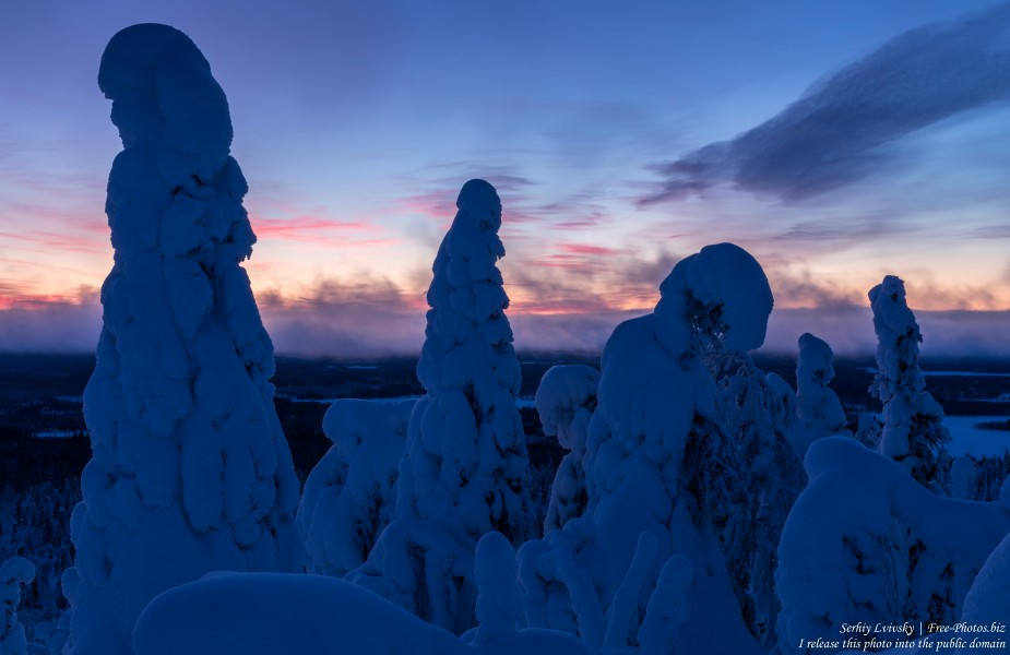 Valtavaara, Finland, photographed in January 2020 by Serhiy Lvivsky, picture 45