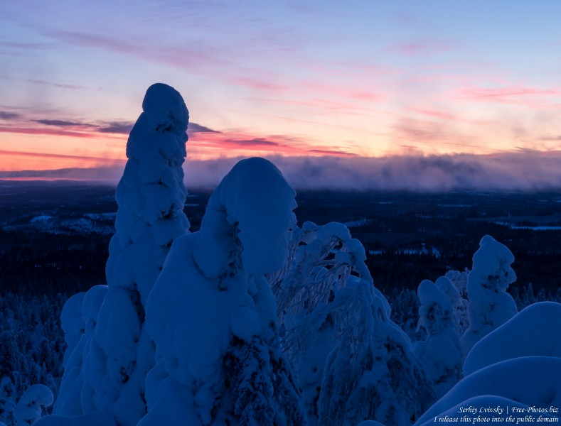 Valtavaara, Finland, photographed in January 2020 by Serhiy Lvivsky, picture 47