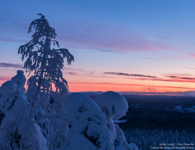 Valtavaara, Finland, photographed in January 2020 by Serhiy Lvivsky, picture 48
