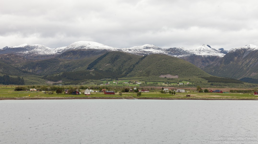 way from Sortland to Stokmarknes, Norway, photographed in June 2018 by Serhiy Lvivsky, picture 9