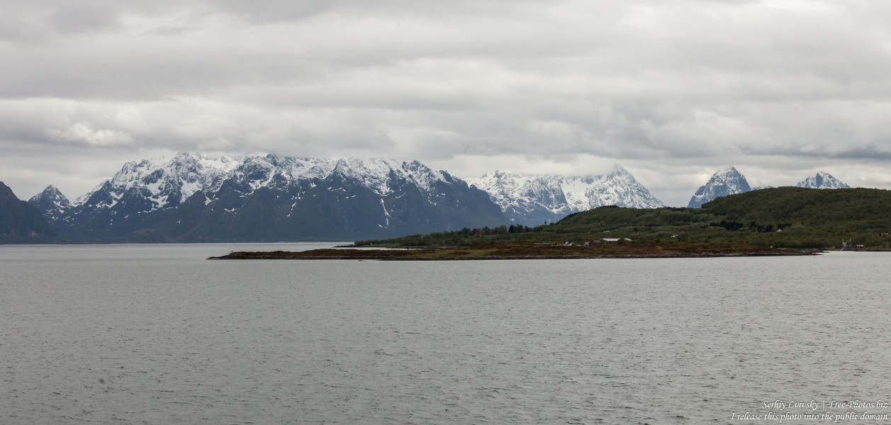 way from Sortland to Stokmarknes, Norway, photographed in June 2018 by Serhiy Lvivsky, picture 11