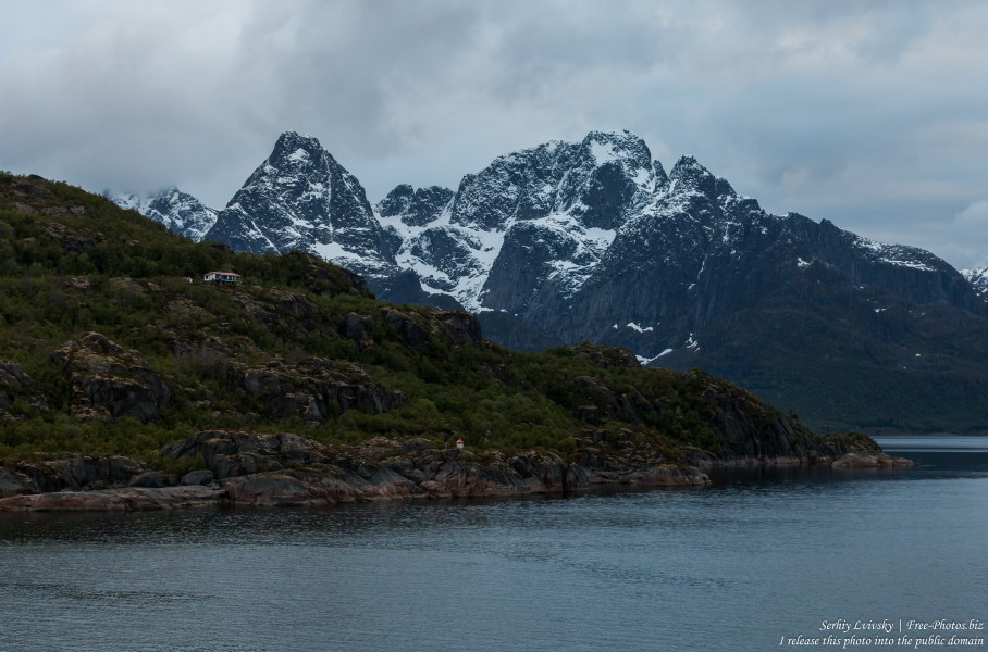 way from Svolvaer to Trollfjord, Norway, photographed in June 2018 by Serhiy Lvivsky, picture 8