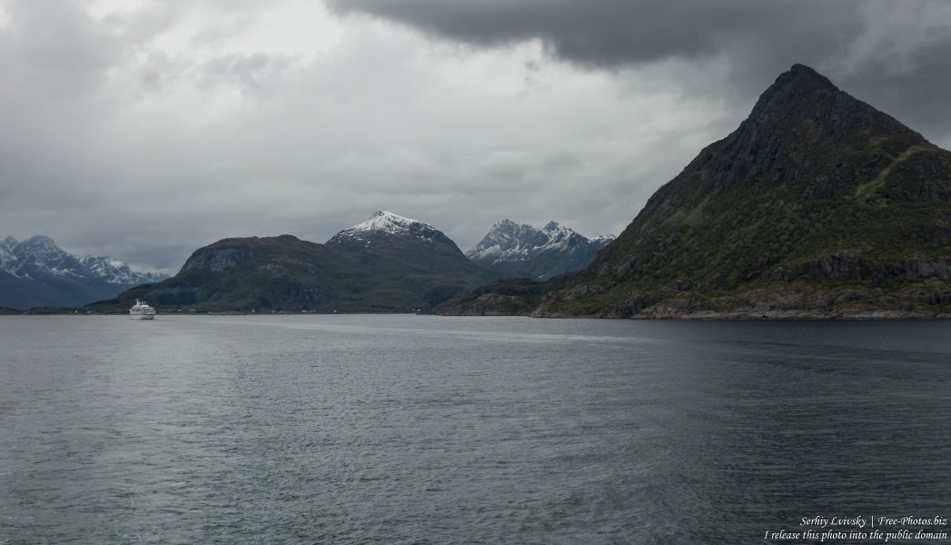 way from Trollfjord to Svolvaer, Norway, photographed in June 2018 by Serhiy Lvivsky, picture 7