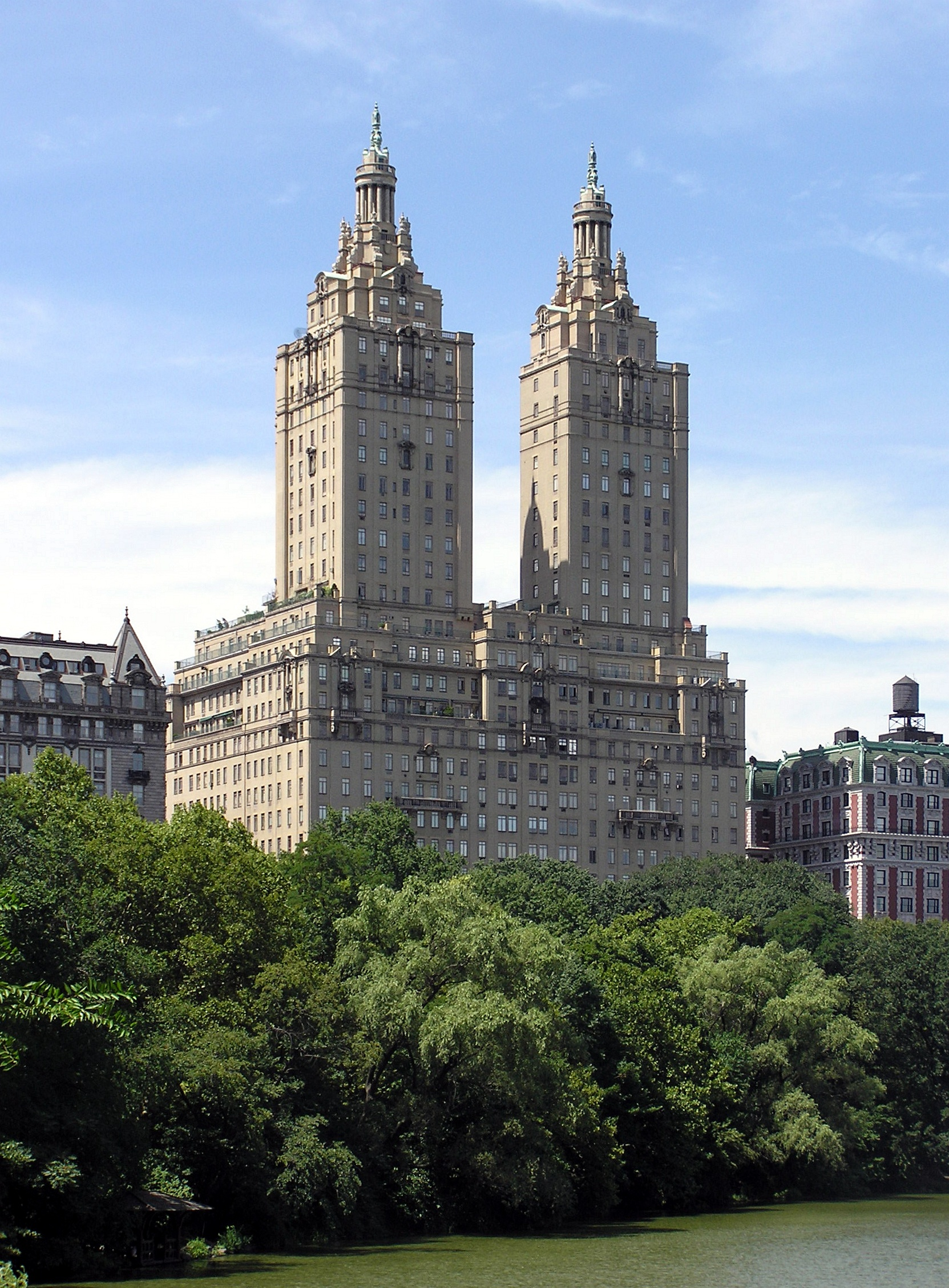 San Remo Apartments from Central Park