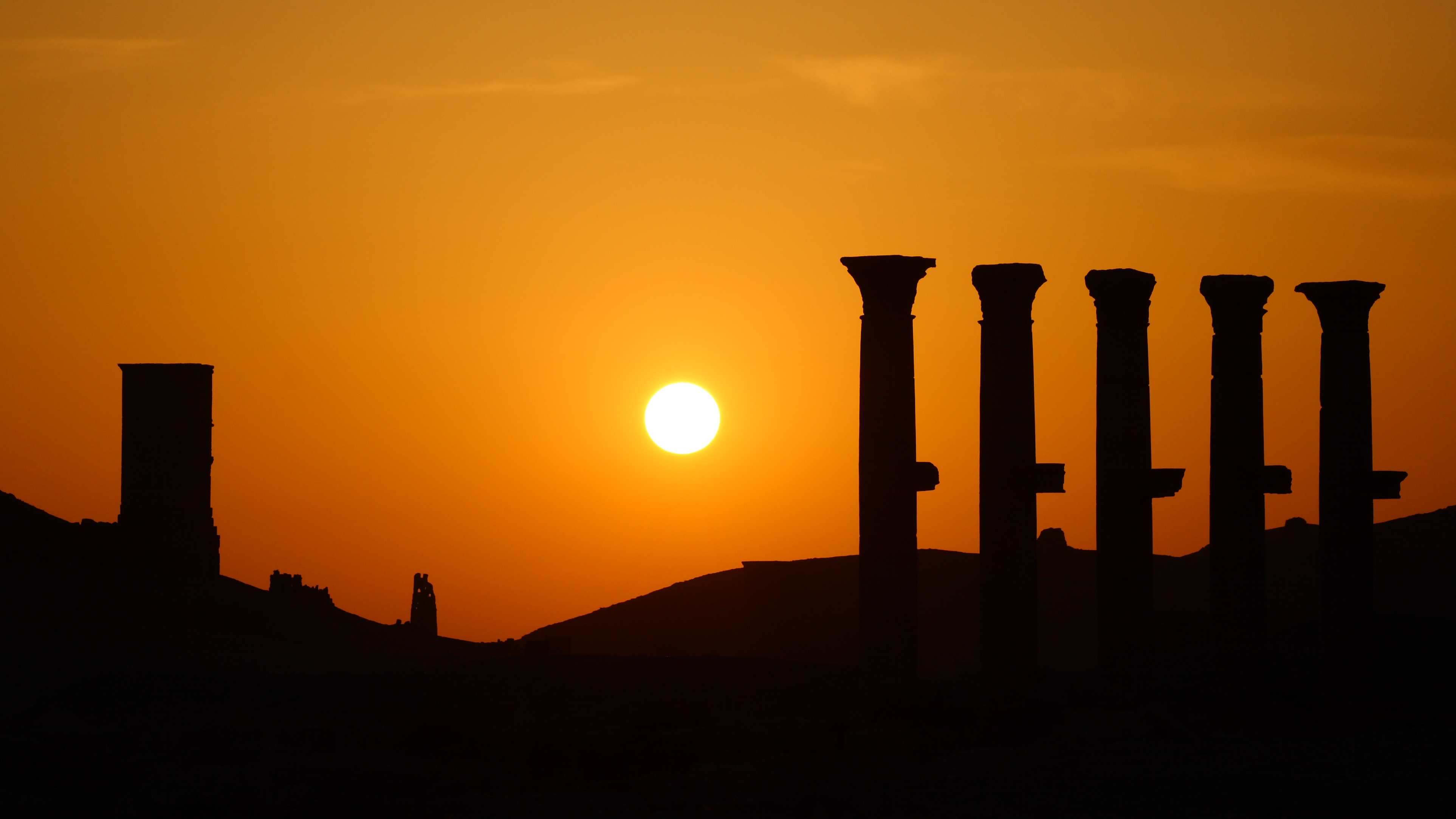 Sunset in Palmyra