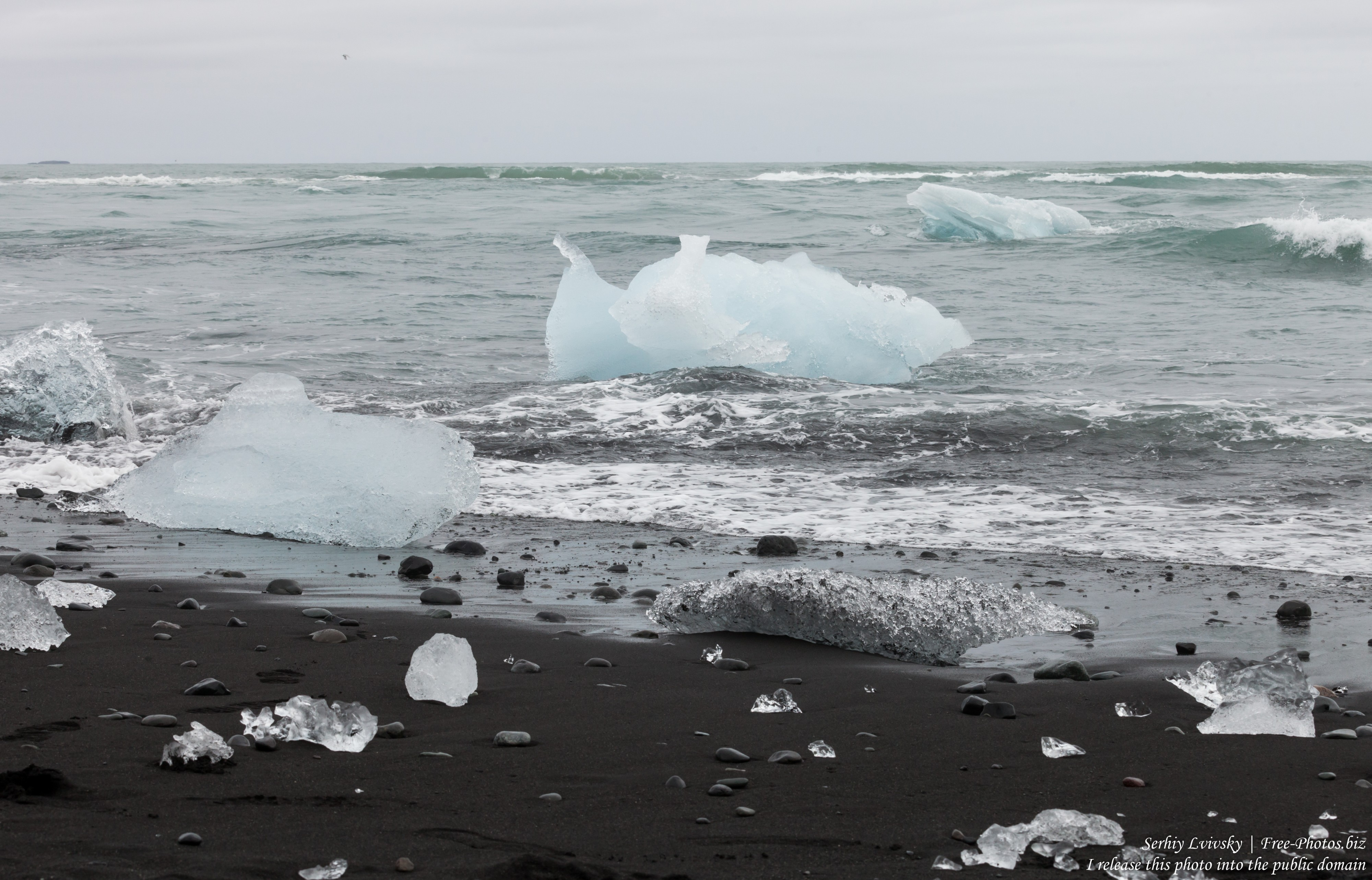 Diamond Beach, Iceland, in May 2019, photographed by Serhiy Lvivsky, picture 1