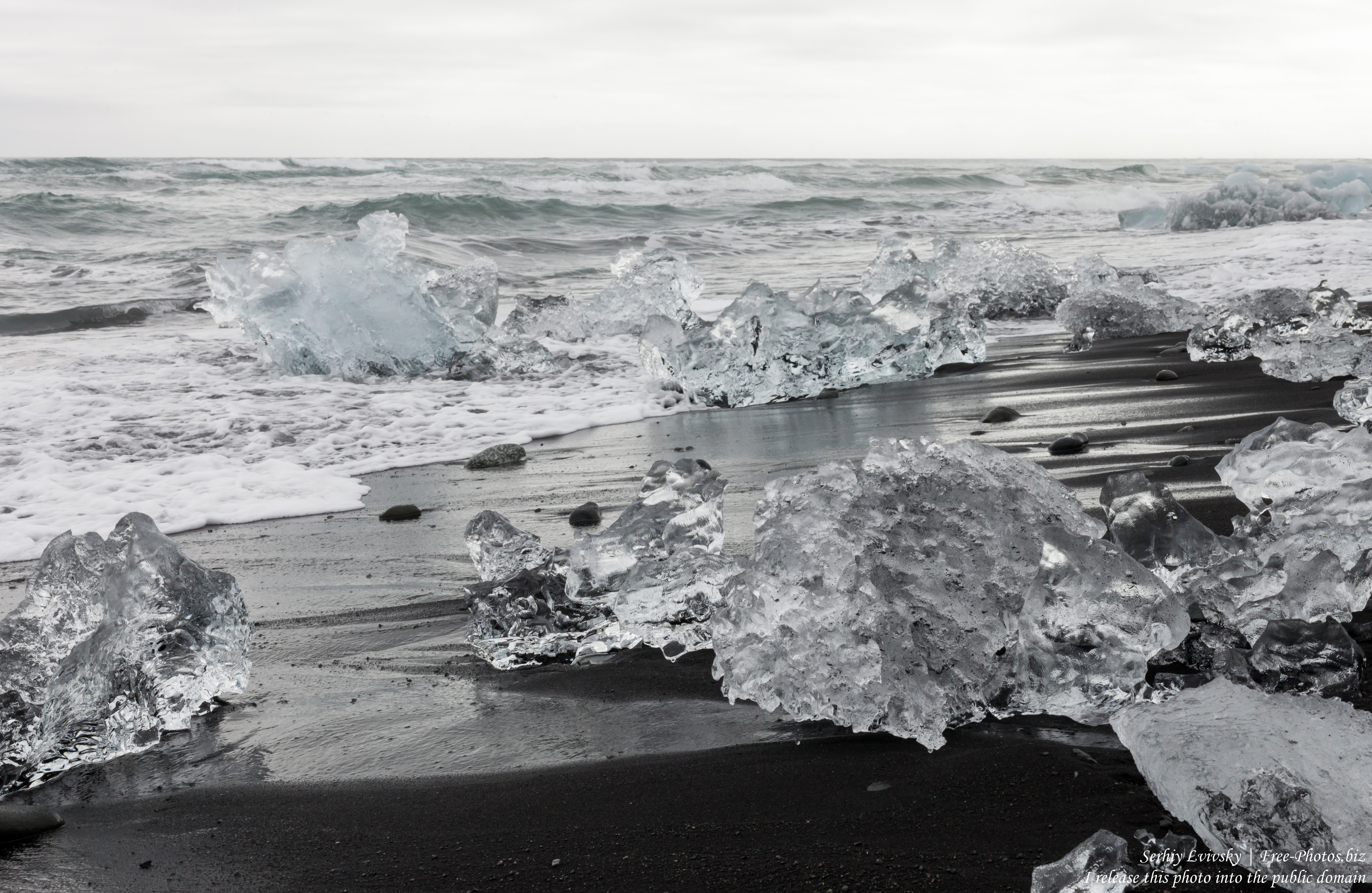 Diamond Beach, Iceland, in May 2019, photographed by Serhiy Lvivsky, picture 13