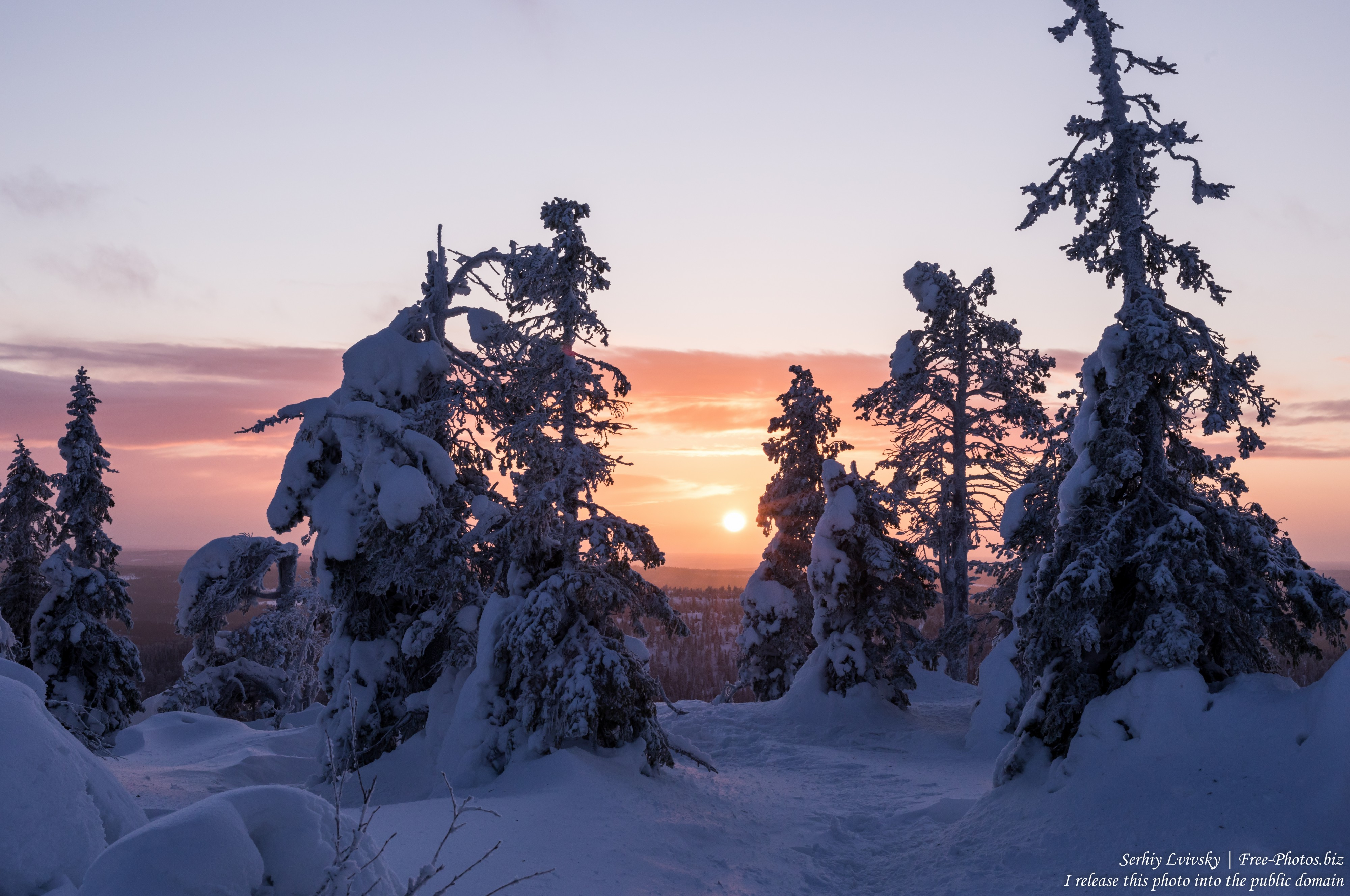 Iso-Syote, Finland, photographed in January 2020 by Serhiy Lvivsky, picture 7