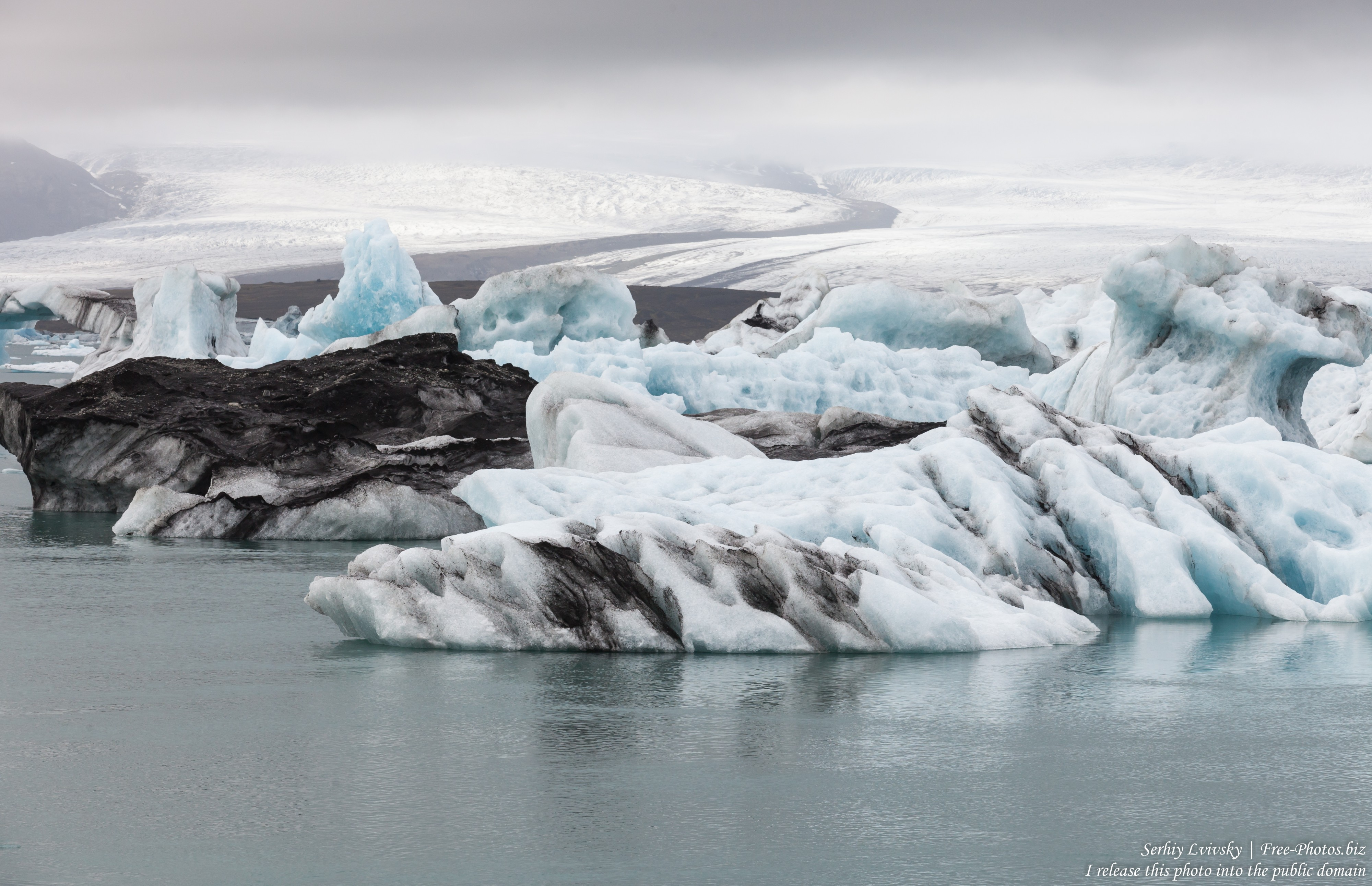 Jokulsarlon Glacier Lagoon, Iceland, photographed in May 2019 by Serhiy Lvivsky, photo 6
