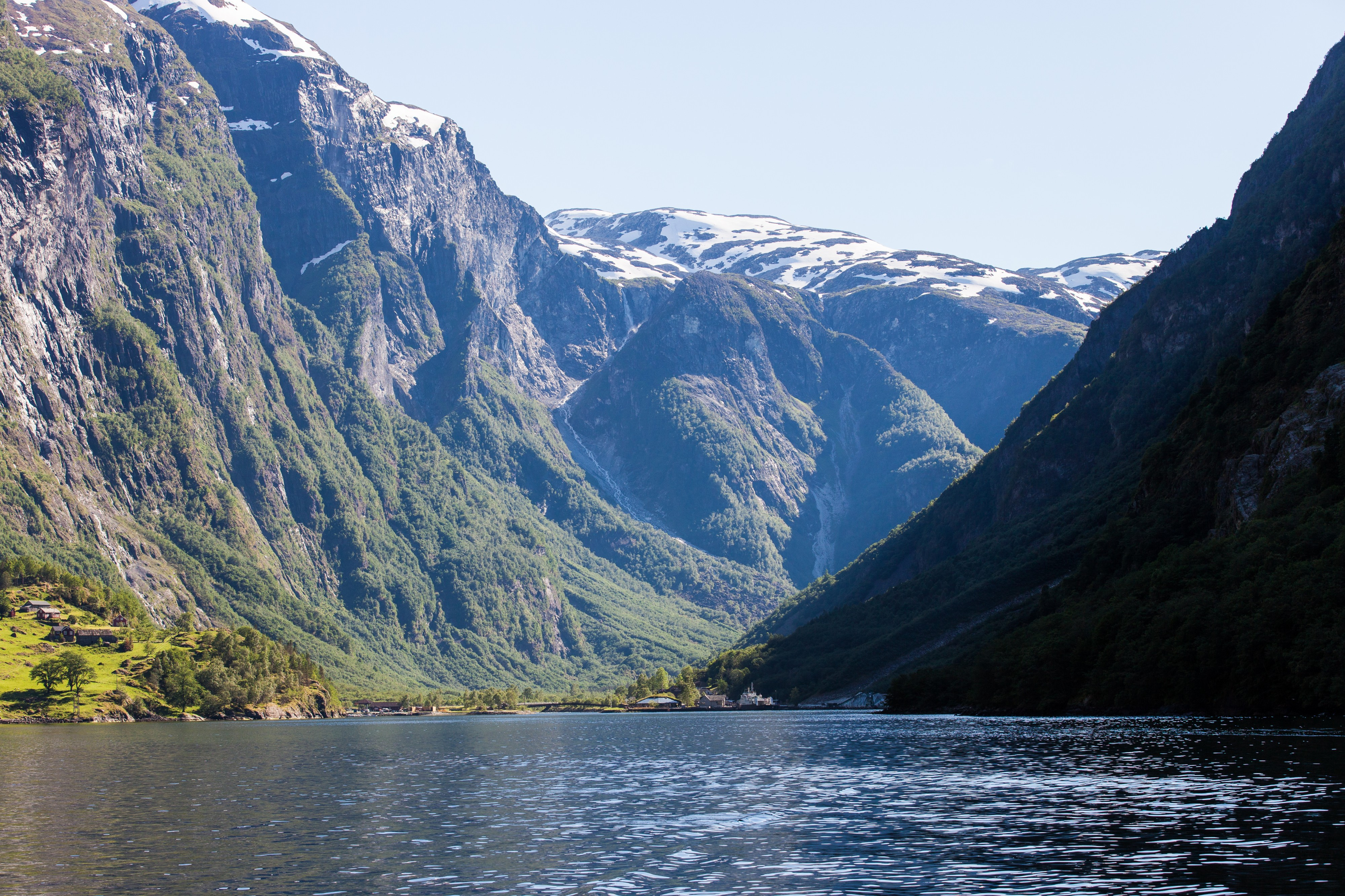 a branch of the Sognefjord, Norway, near Flåm, June 2014, picture 98