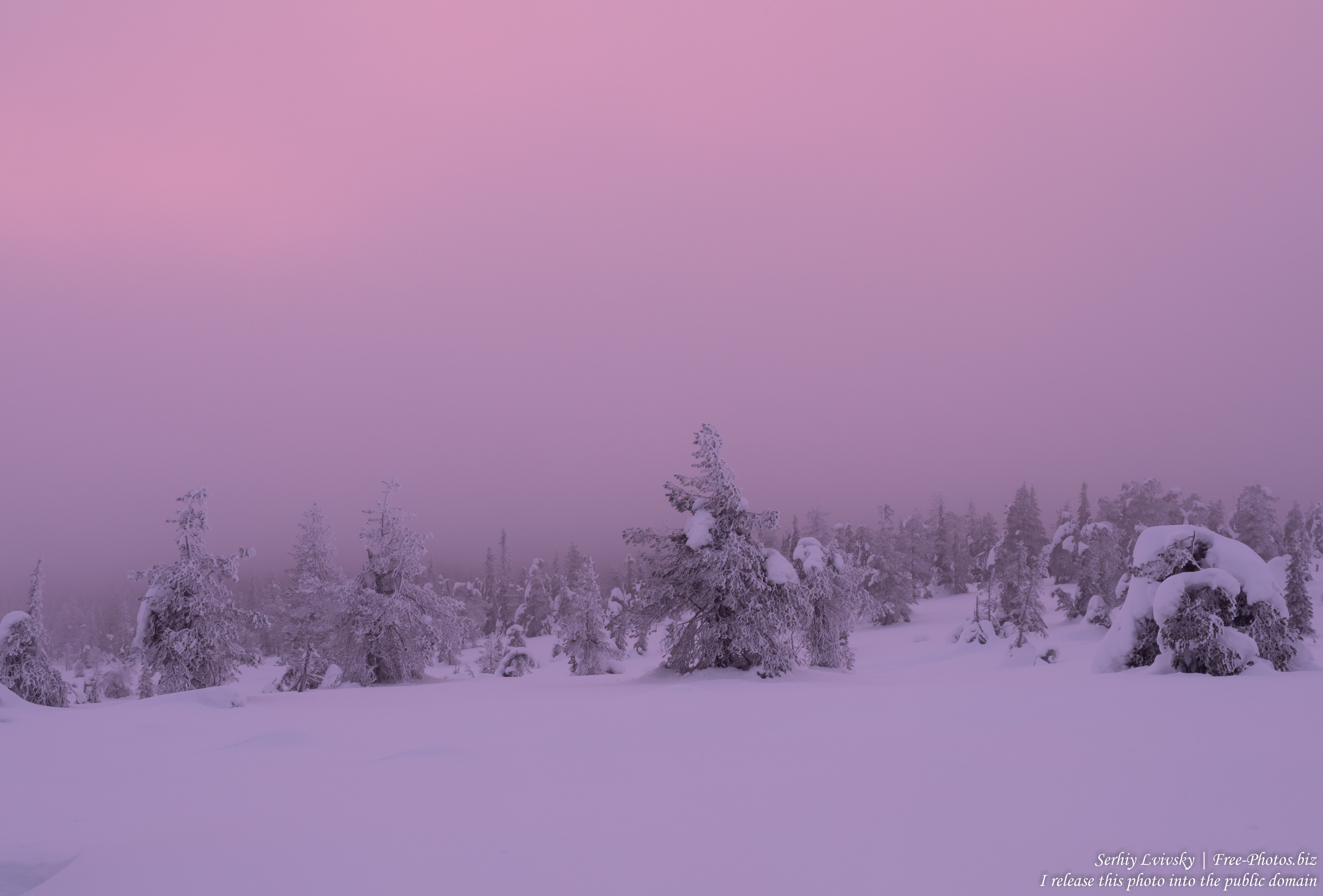 Riisitunturi, Finland, photographed in January 2020 by Serhiy Lvivsky, picture 7