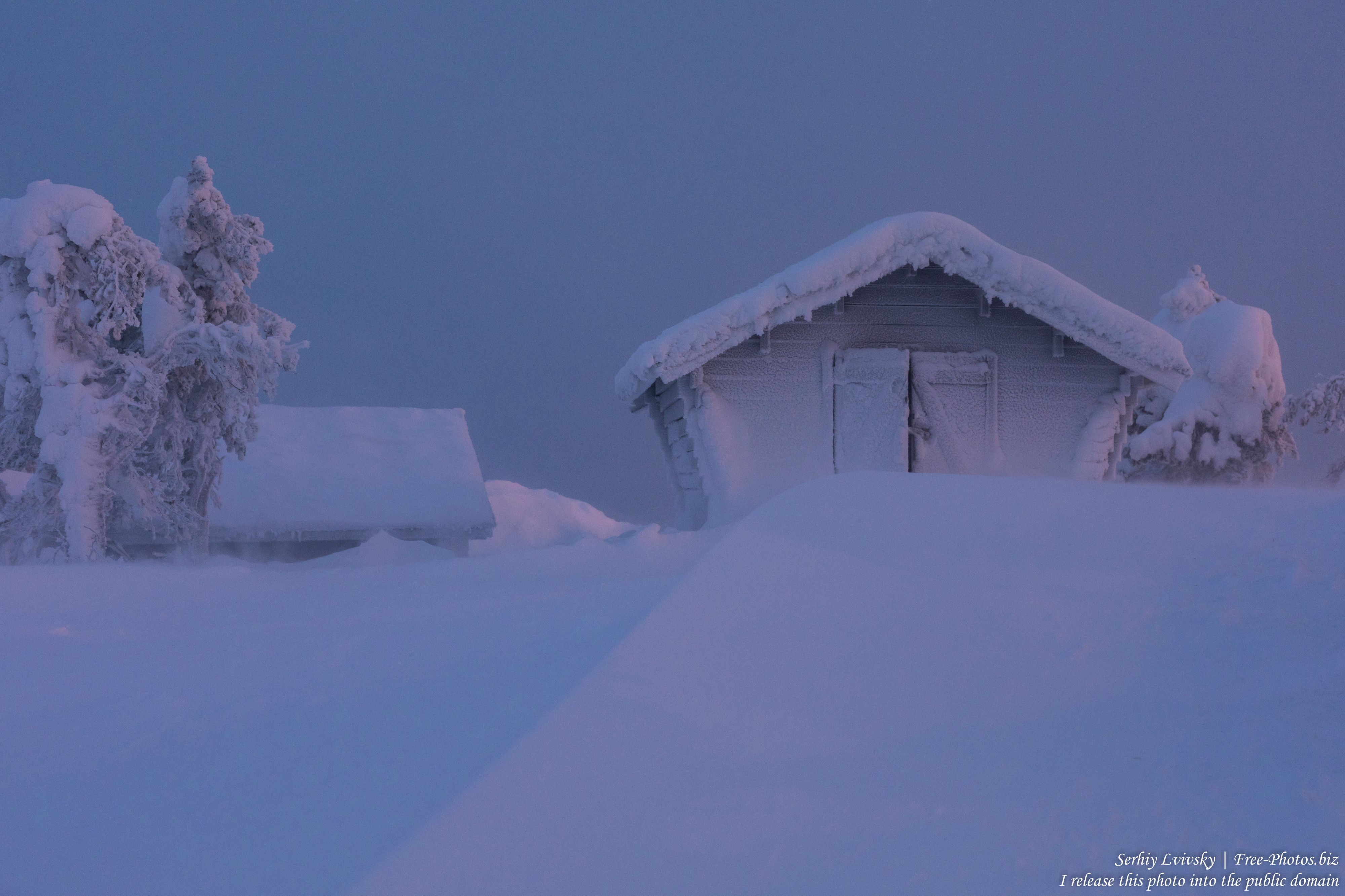Ruka, Finland, photographed in January 2020 by Serhiy Lvivsky, picture 7