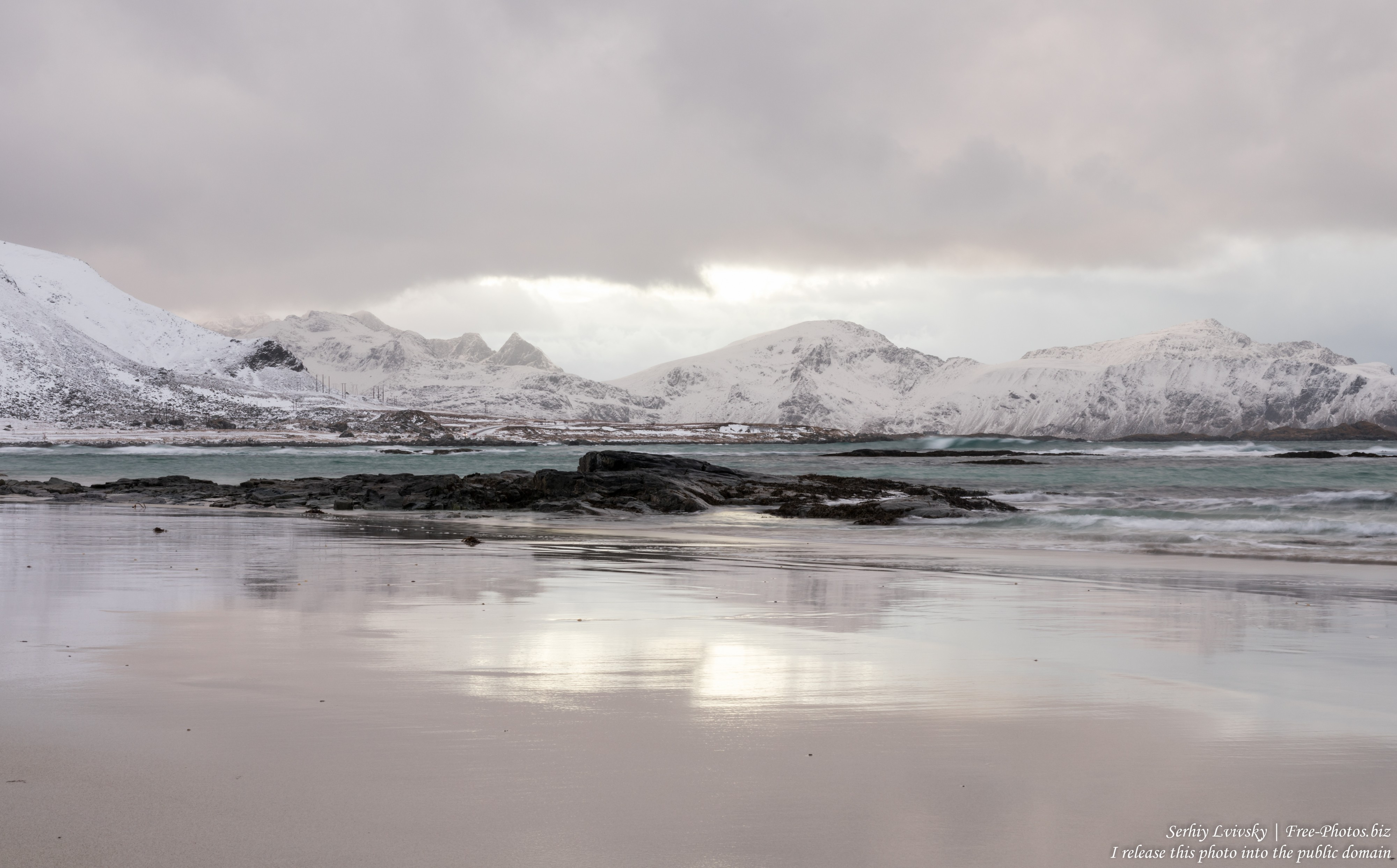 Skagsanden beach, Norway, photographed in February 2020 by Serhiy Lvivsky, picture 6