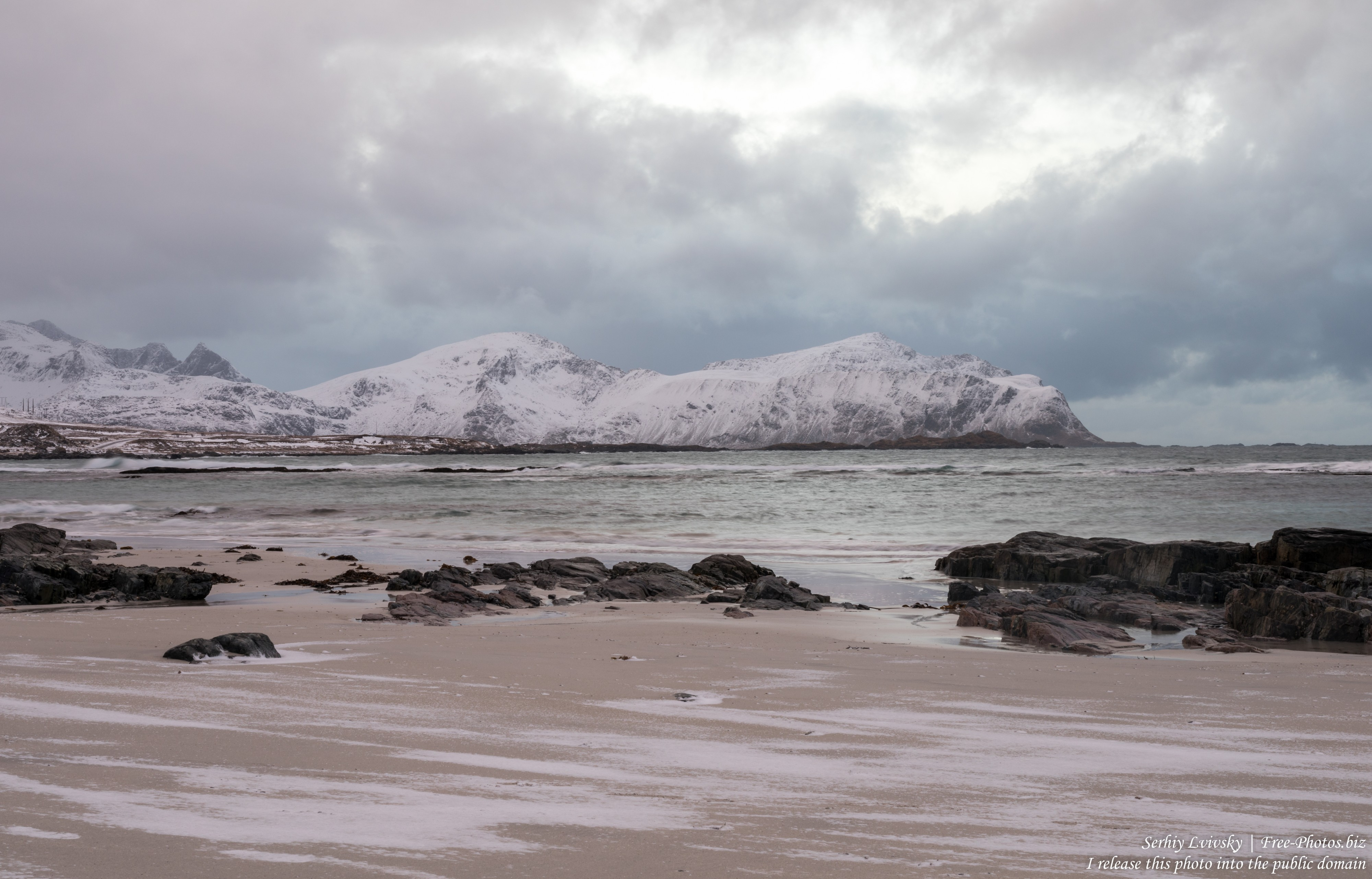Skagsanden beach, Norway, photographed in February 2020 by Serhiy Lvivsky, picture 7