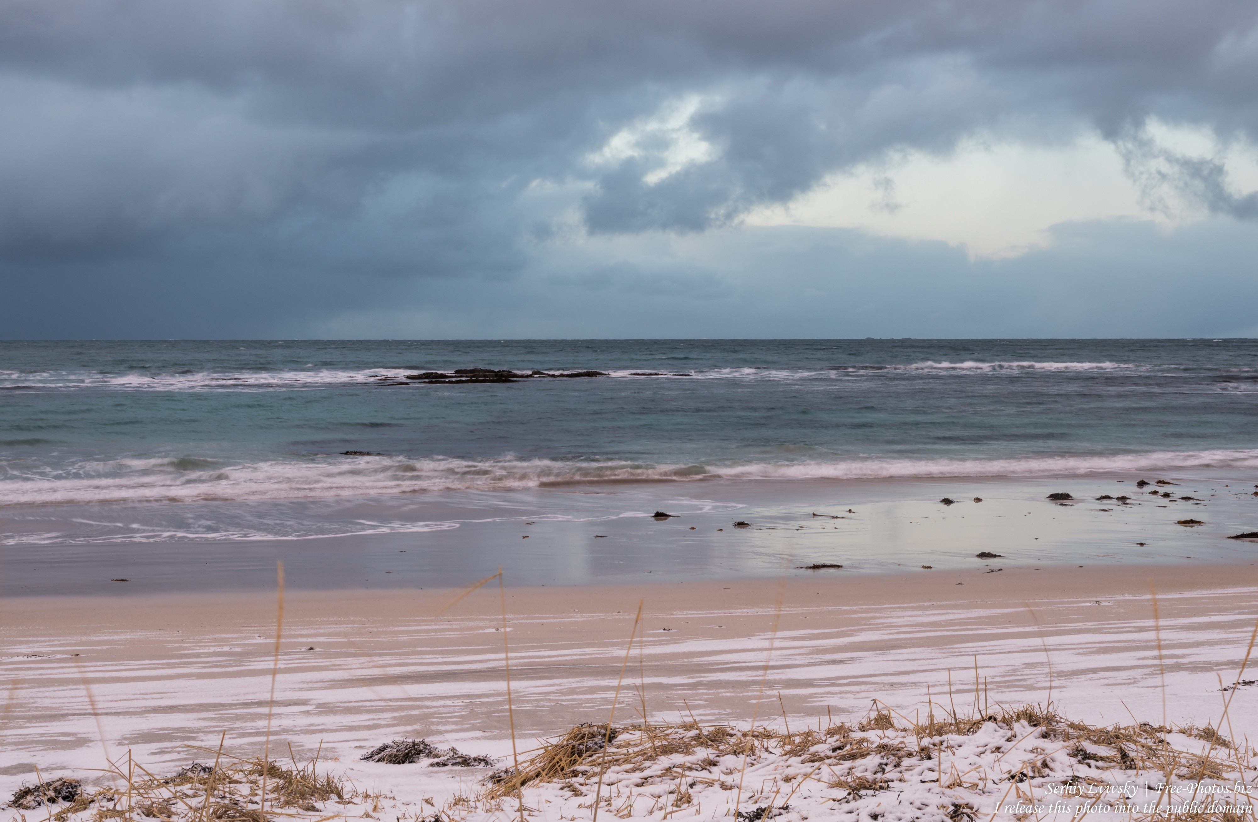 Skagsanden beach, Norway, photographed in February 2020 by Serhiy Lvivsky, picture 12
