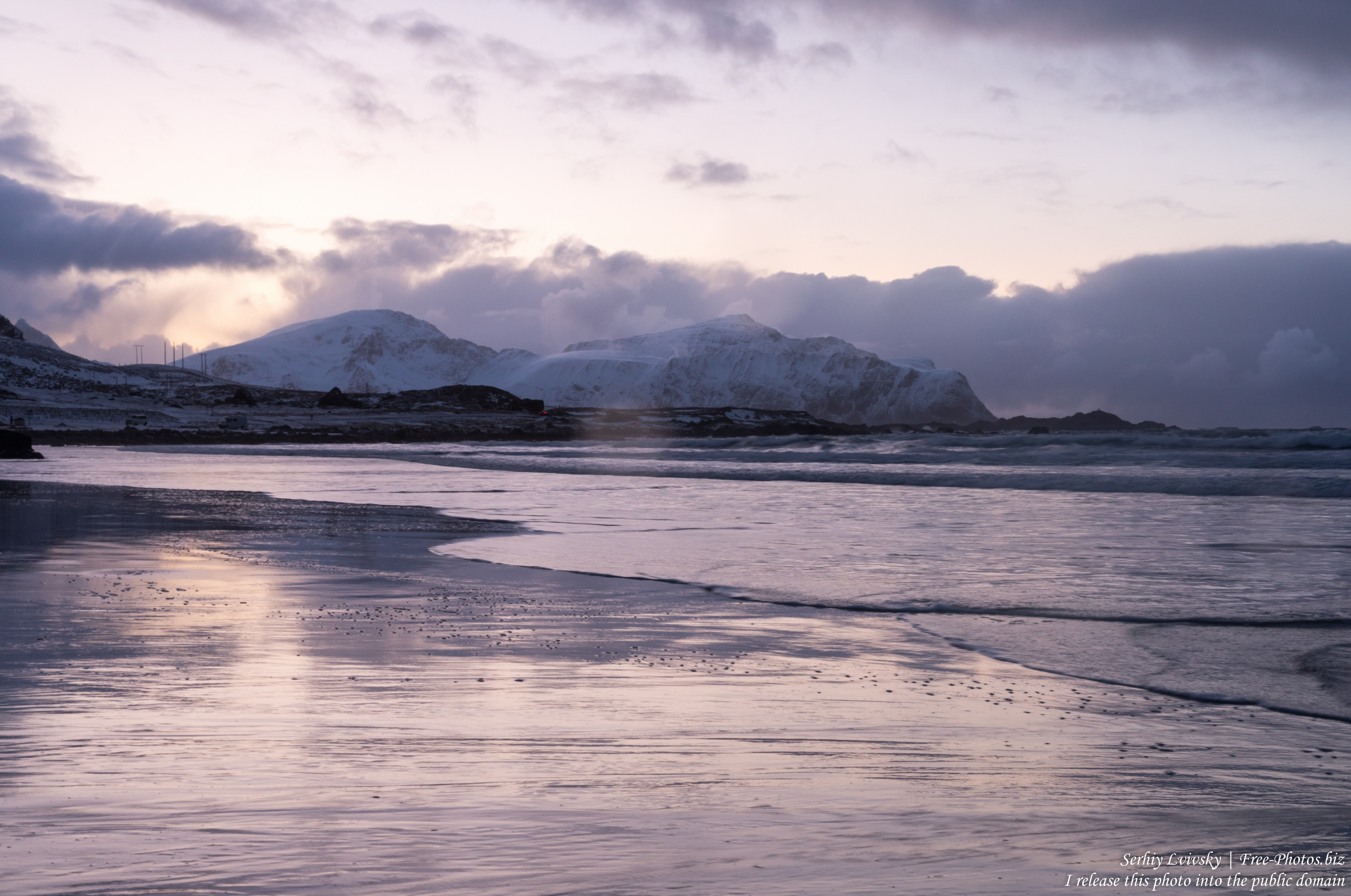 Skagsanden beach, Norway, photographed in February 2020 by Serhiy Lvivsky, picture 20