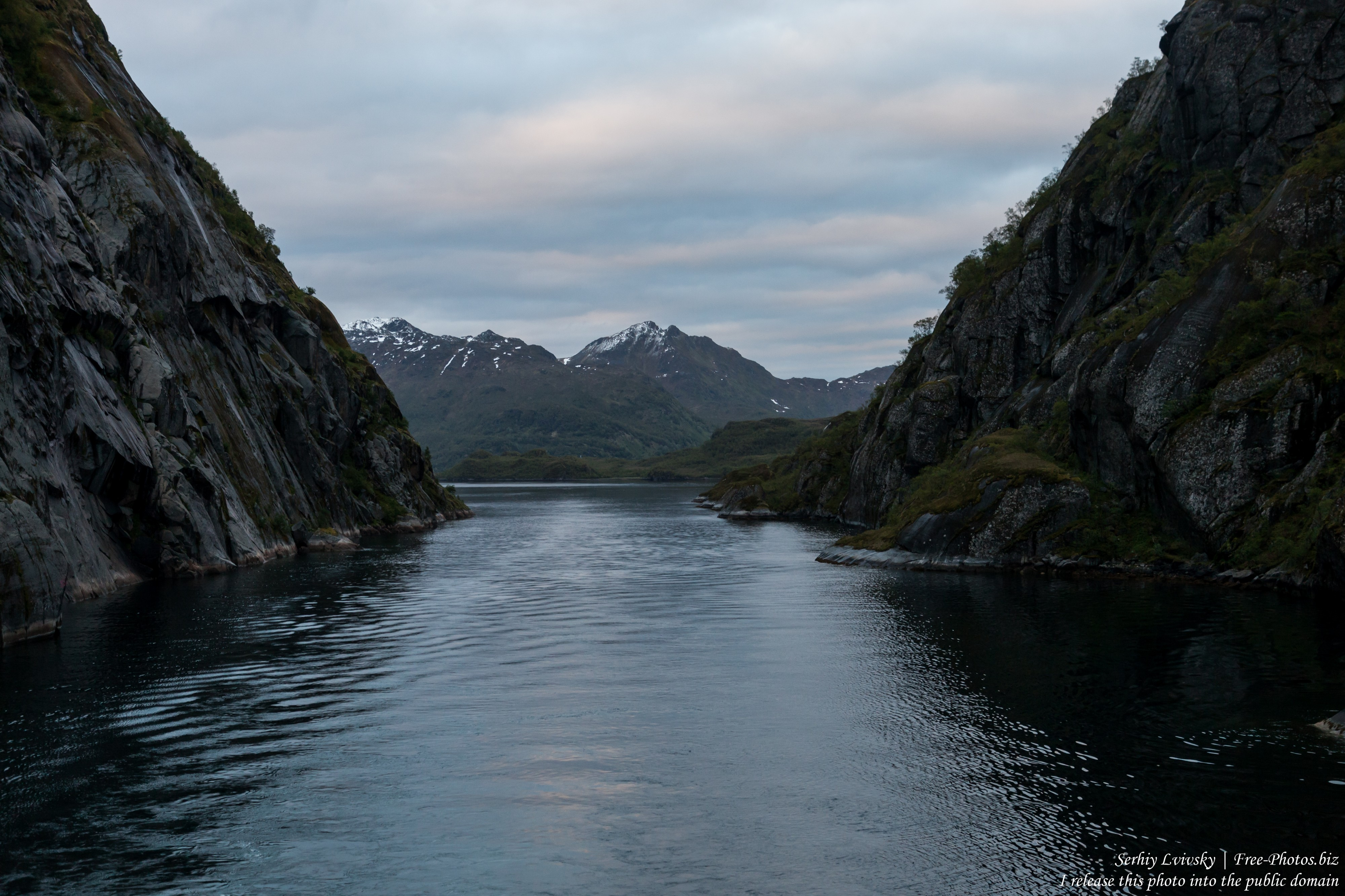 Trollfjord, Norway, photographed in June 2018 by Serhiy Lvivsky, picture 6