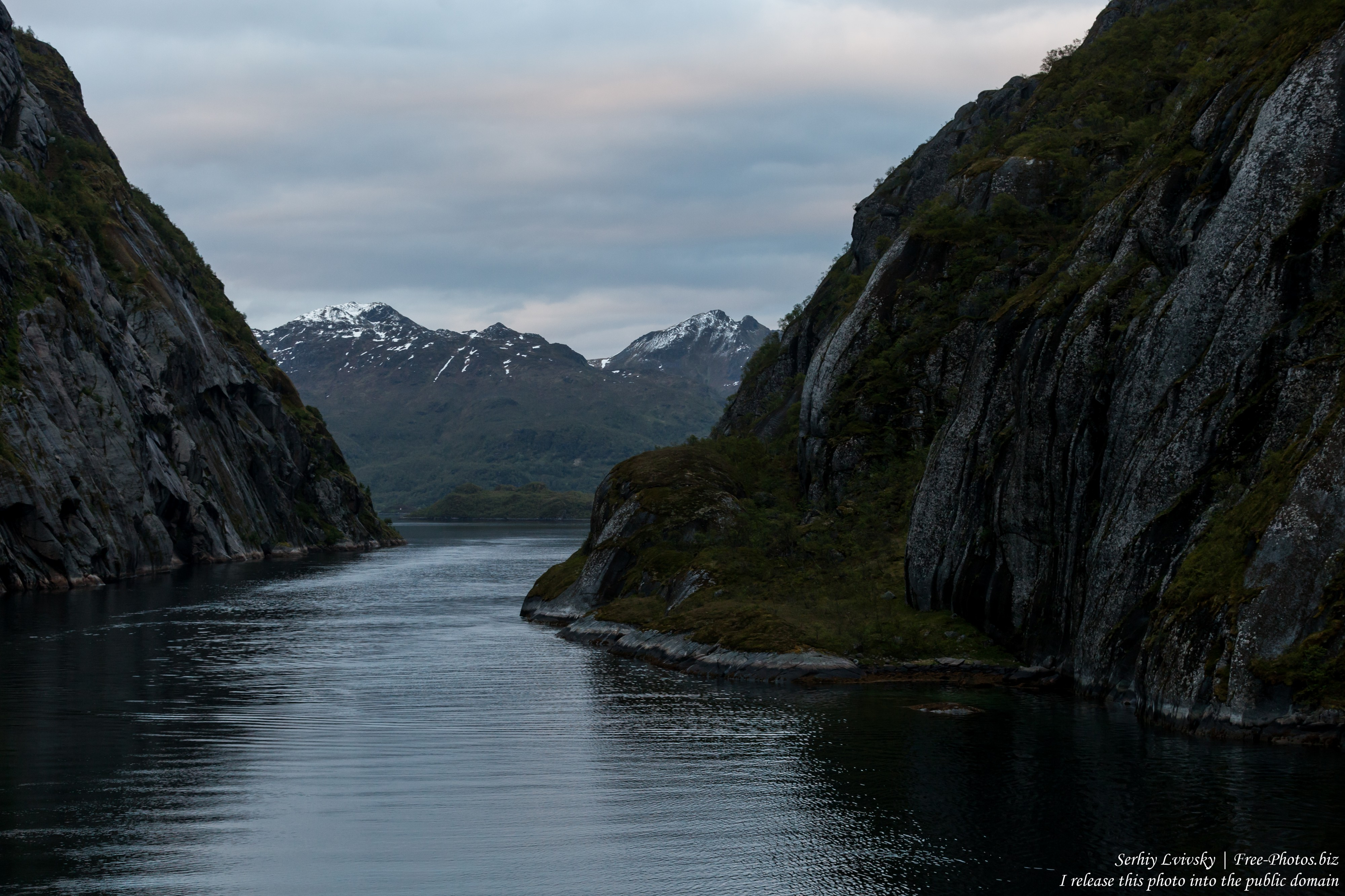 Trollfjord, Norway, photographed in June 2018 by Serhiy Lvivsky, picture 7