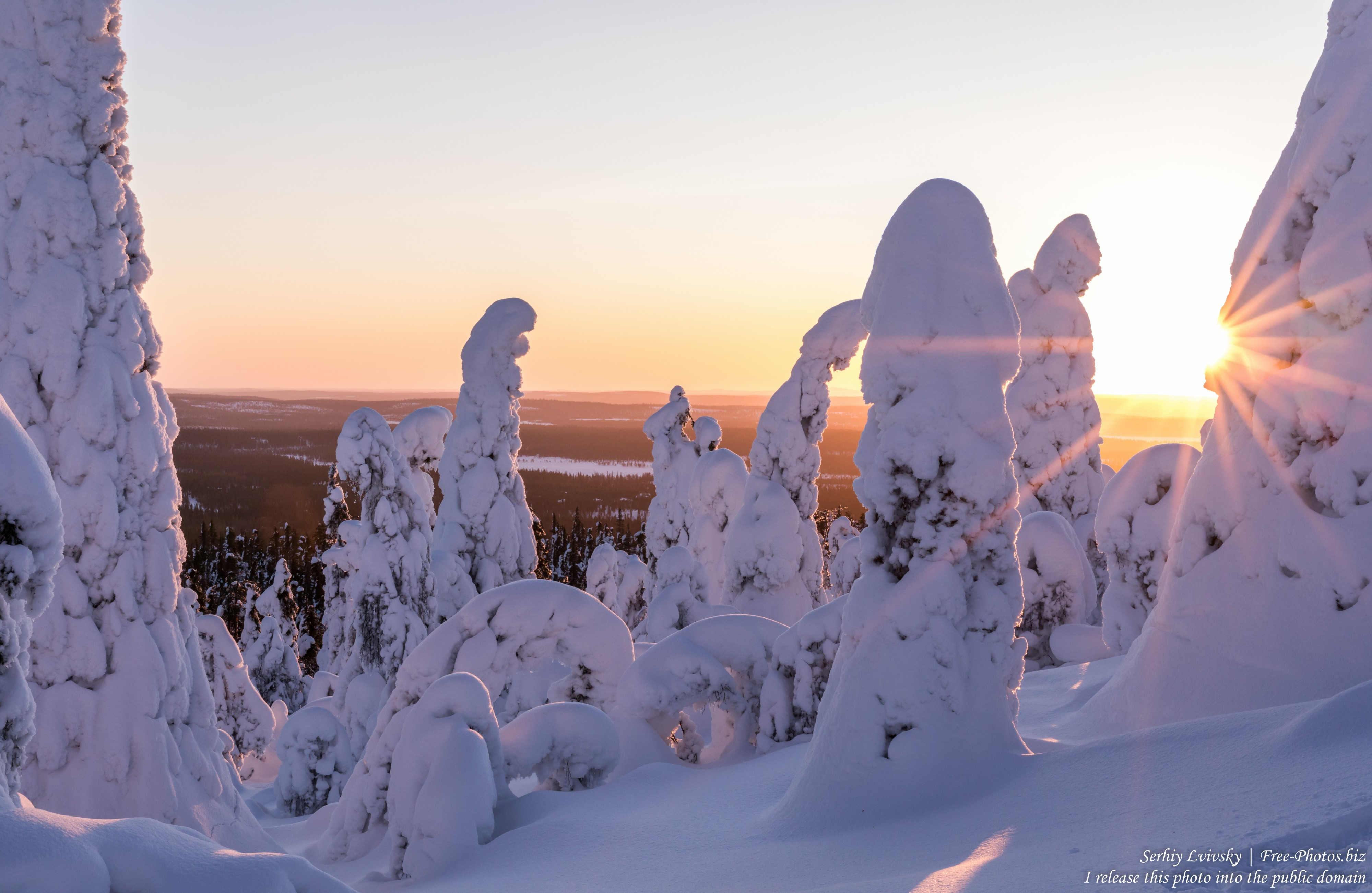 Valtavaara, Finland, photographed in January 2020 by Serhiy Lvivsky, picture 33