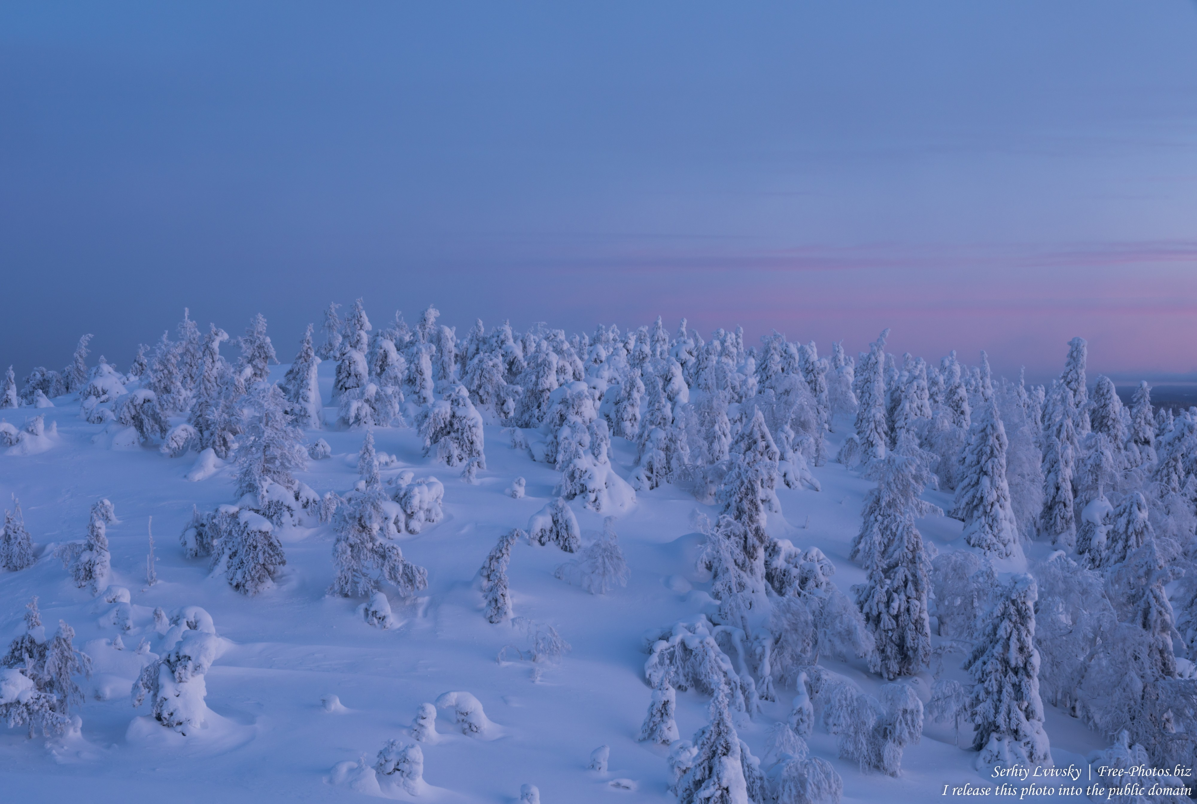 Valtavaara, Finland, photographed in January 2020 by Serhiy Lvivsky, picture 54