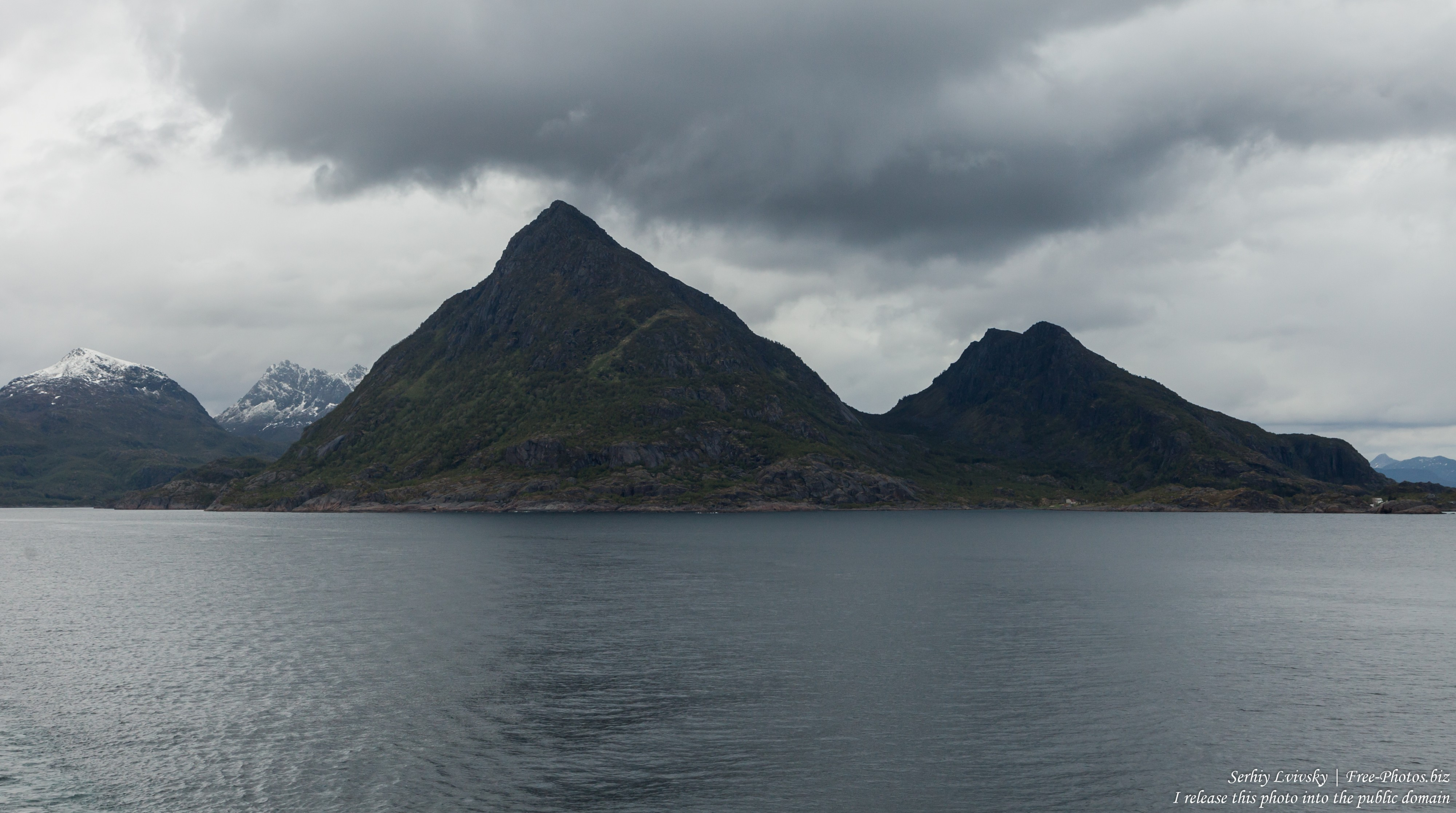 way from Trollfjord to Svolvaer, Norway, photographed in June 2018 by Serhiy Lvivsky, picture 8