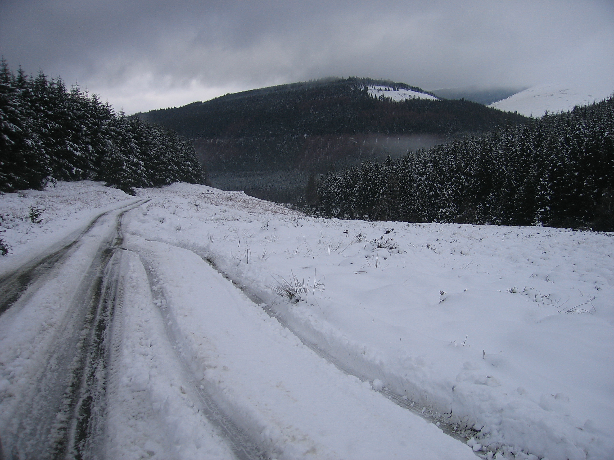 Military Road Laragh-Glenmalure