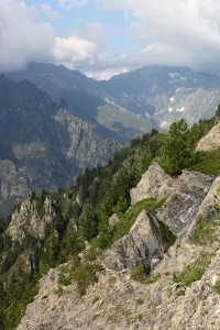 the Alps mountains around the La Salette sanctuary, France, Europe, August 2013, picture 25