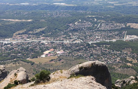 a view from Montserrat mountain, Catalonia, Spain, Europe, August 2013, picture 22