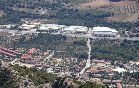 a view from Montserrat mountain, Catalonia, Spain, Europe, August 2013, picture 24