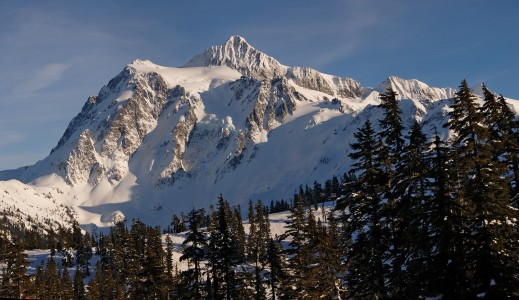 Mount Shuksan Wide Mercator 3500px