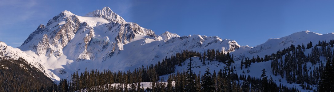 Mount Shuksan Winter Mercator 6310px