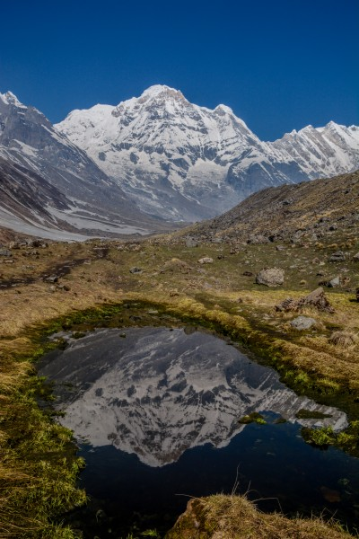 Reflection of Annapurna I