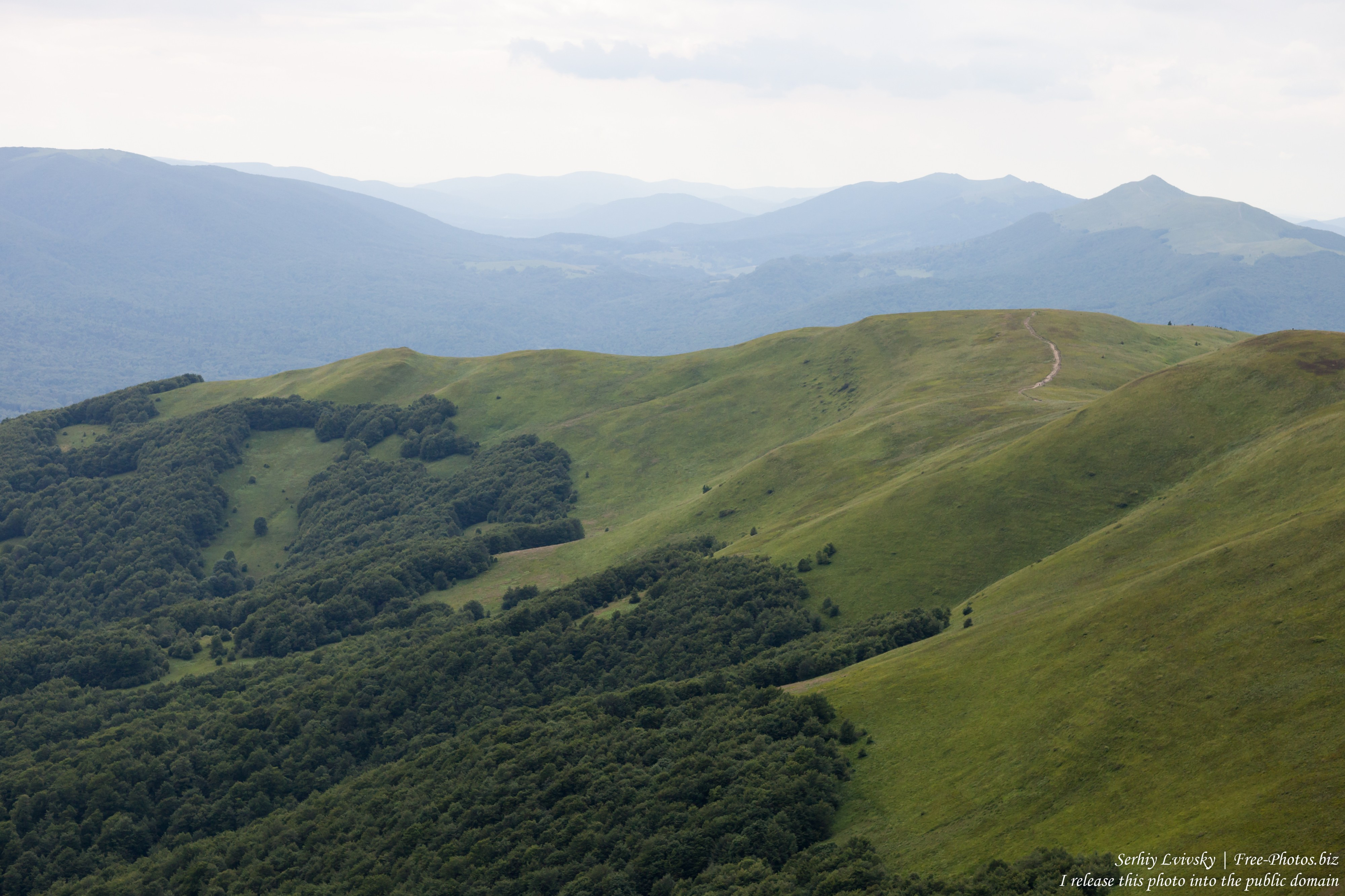 Bieszczady mountains, Poland, photographed in July 2017 by Serhiy Lvivsky, picture 3