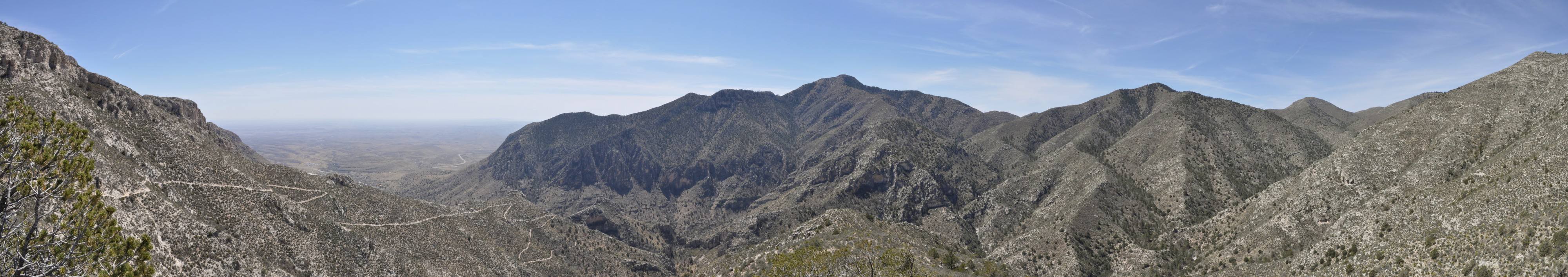 Guadalupe Mountains March 2014