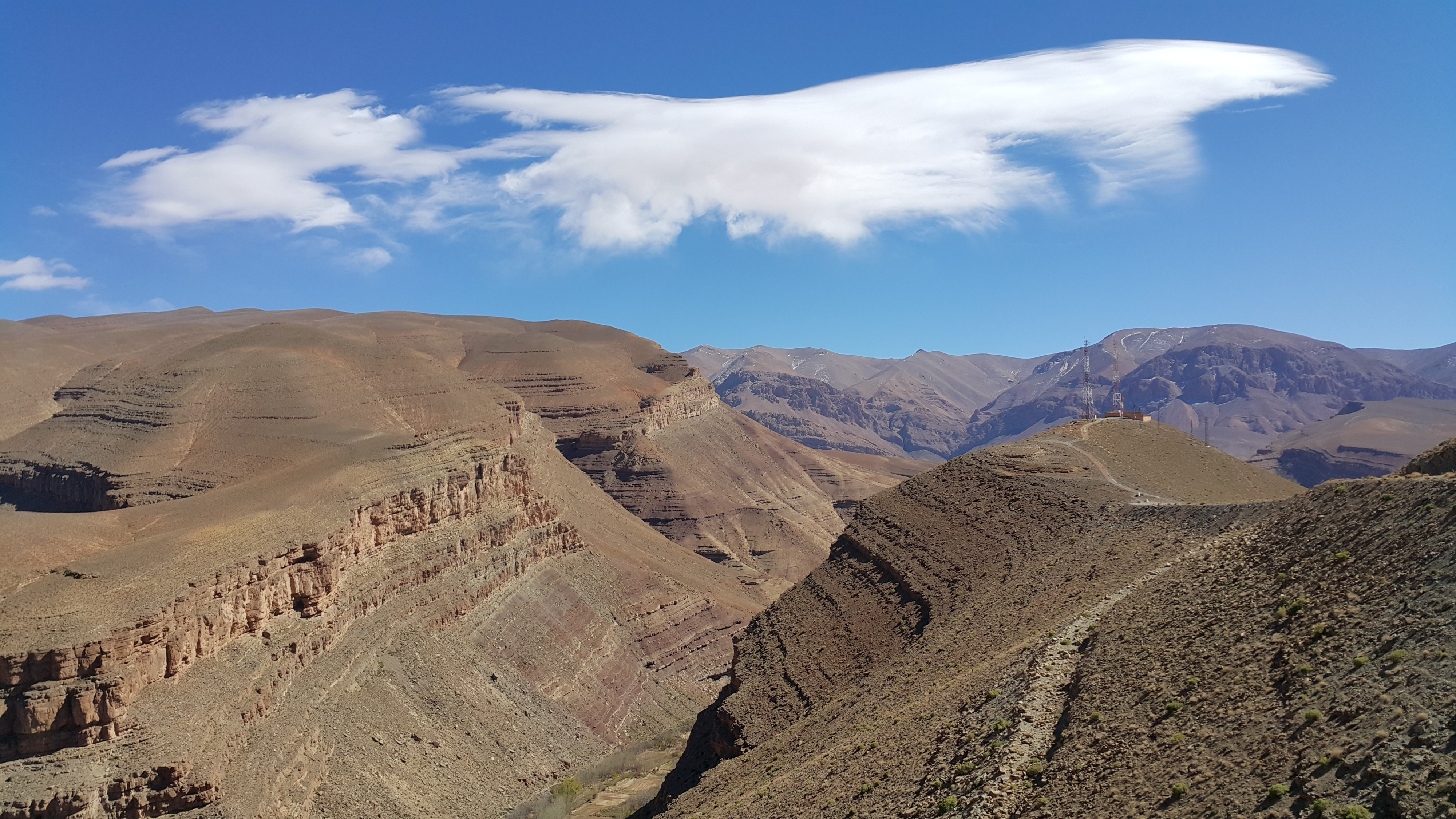 High Atlas in Morocco
