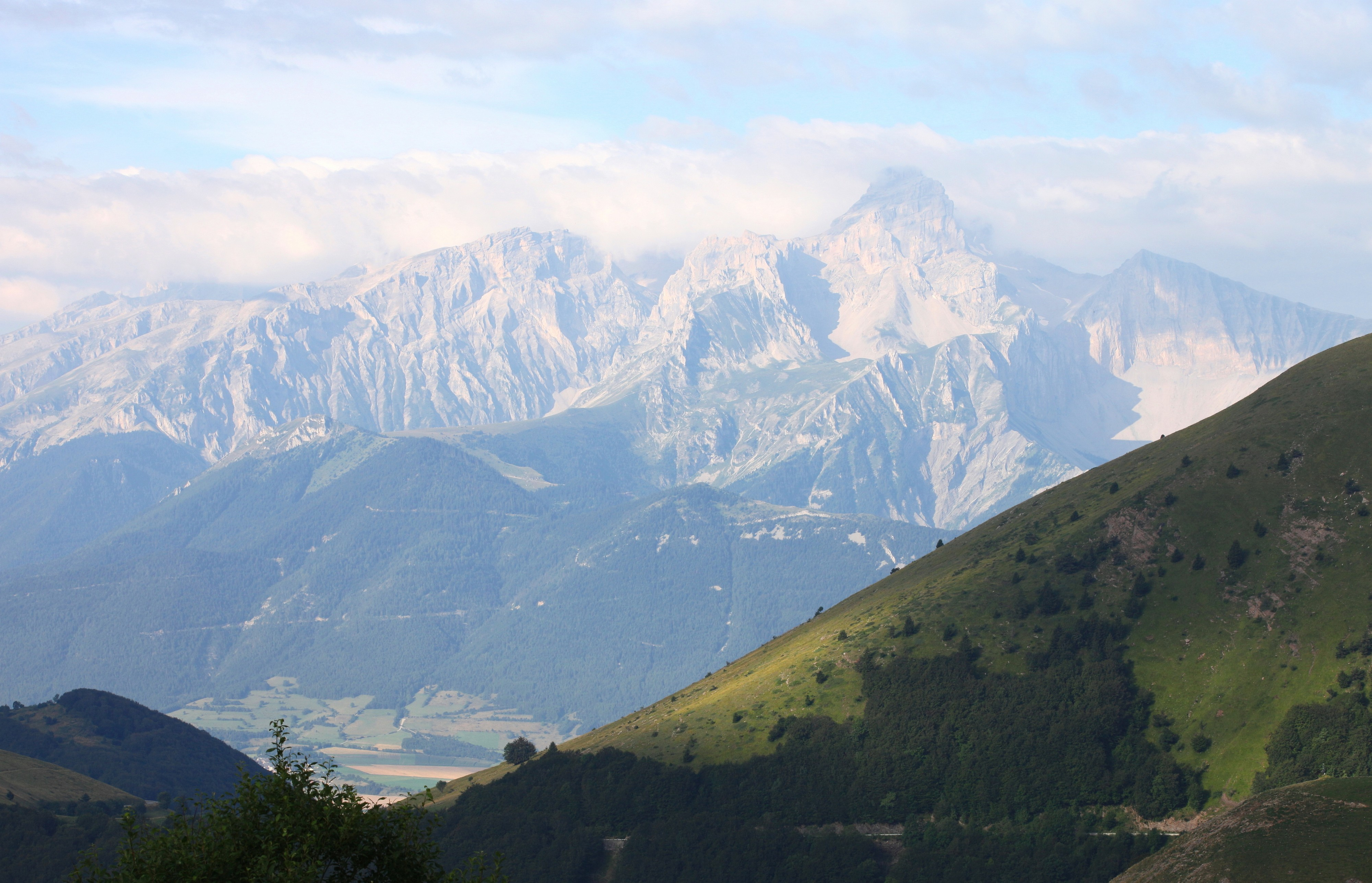 the Alps near the La Salette sanctuary, France, Europe, August 2013, picture 46