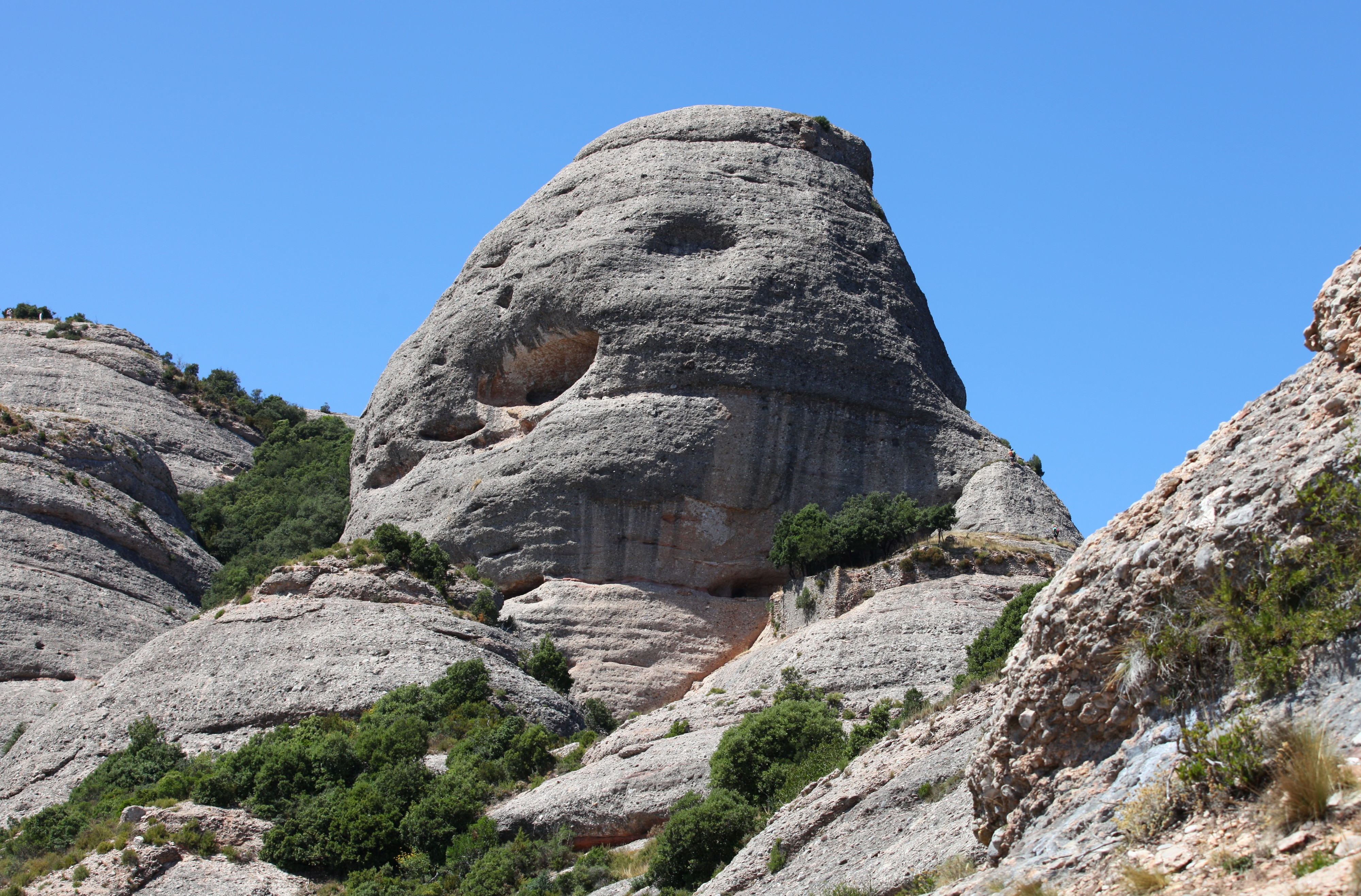 Montserrat mountain, Catalonia, Spain, Europe, August 2013, picture 13