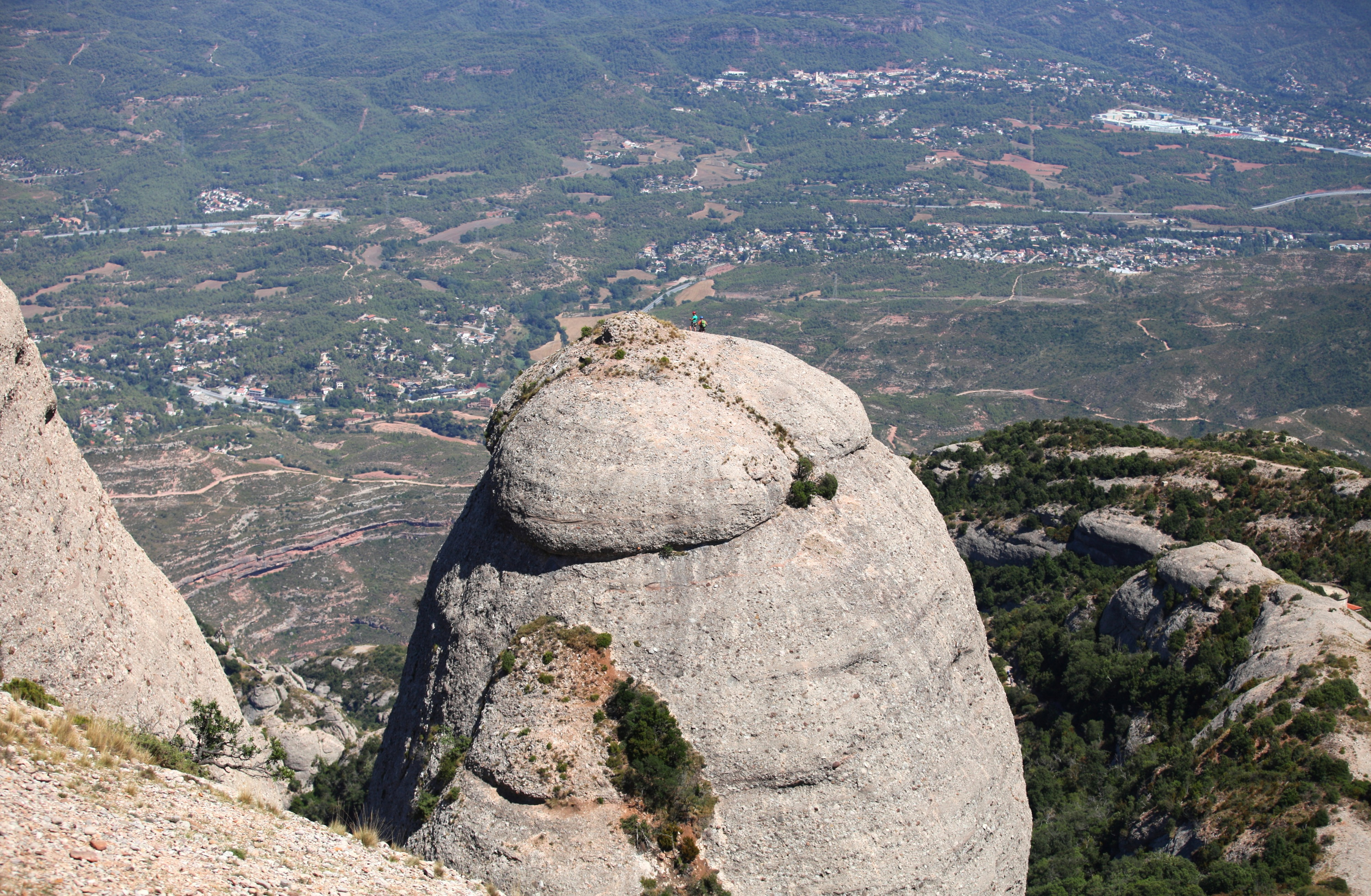 a view from Montserrat mountain, Catalonia, Spain, Europe, August 2013, picture 28
