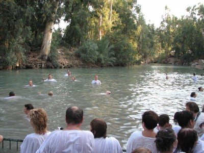 Christians in Jordan river are being reminded of their baptism sacrament, picture 3