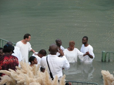 Christians in Jordan river are being reminded of their baptism sacrament, picture 1