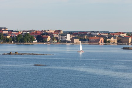 nearing Karlskrona, Sweden, Baltic sea, June 2014, picture 4