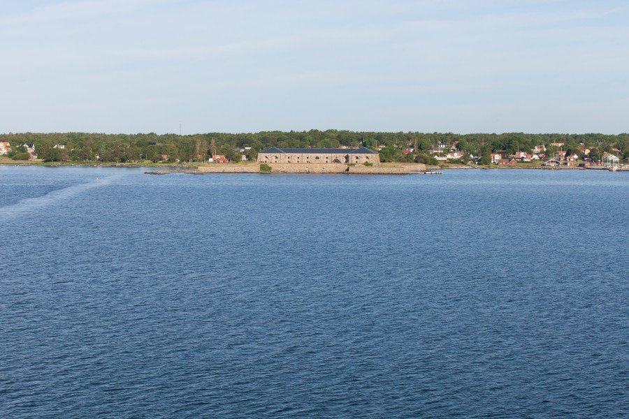 nearing Karlskrona, Sweden, Baltic sea, June 2014, picture 1