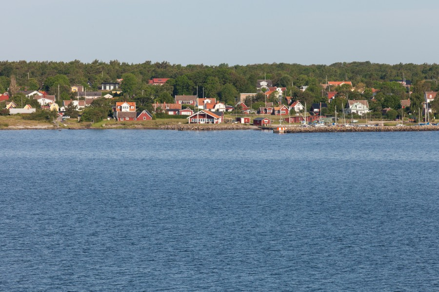 nearing Karlskrona, Sweden, Baltic sea, June 2014, picture 2