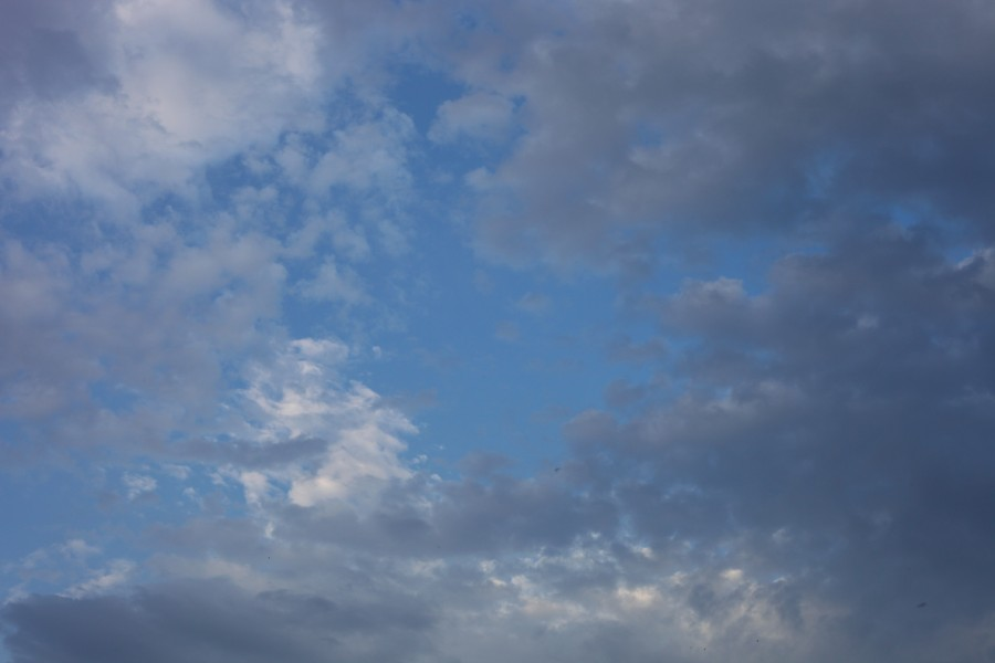 Beautiful cloud pattern, July 2012 (Europe), picture 1