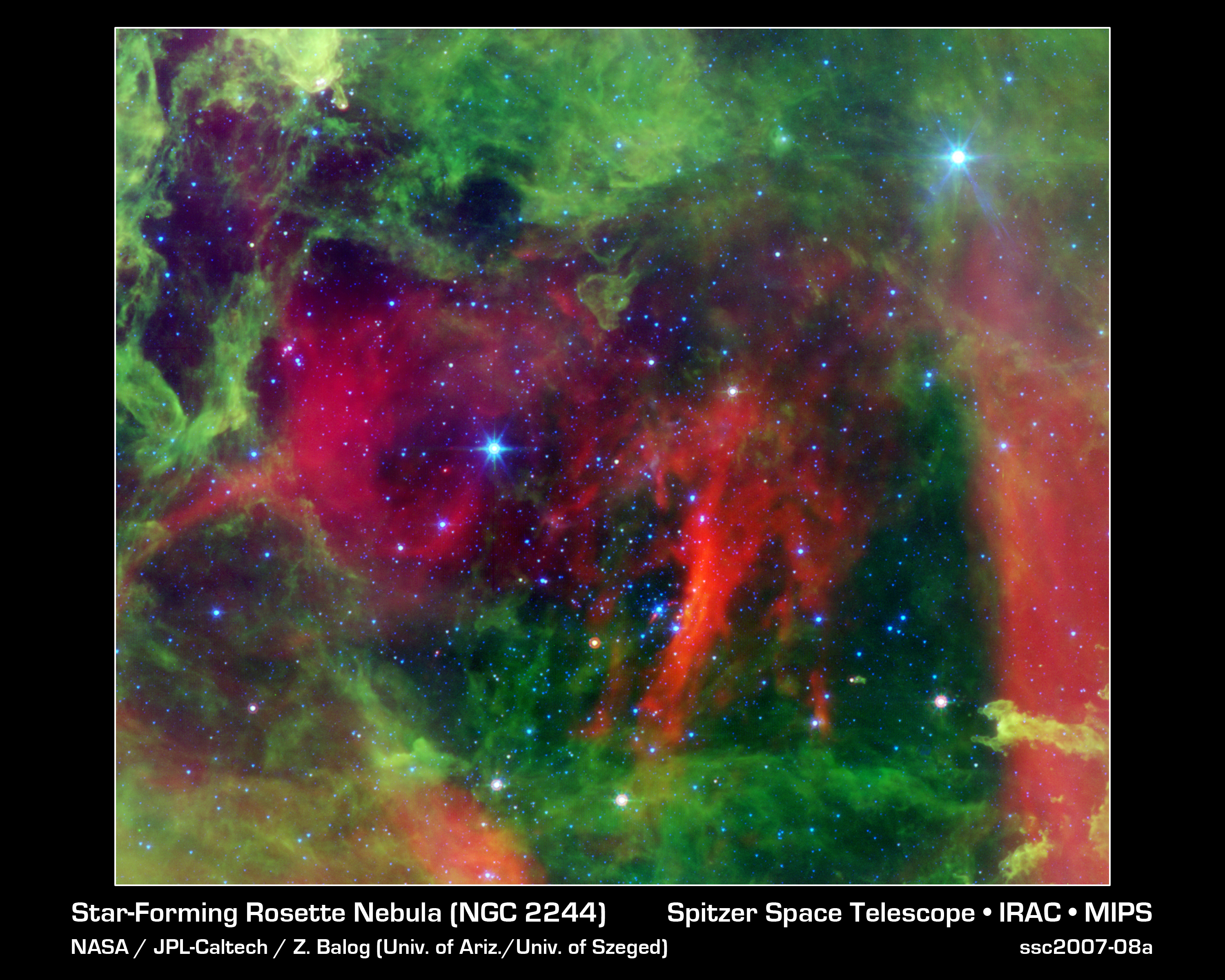 Heart of the Rosette Nebula
