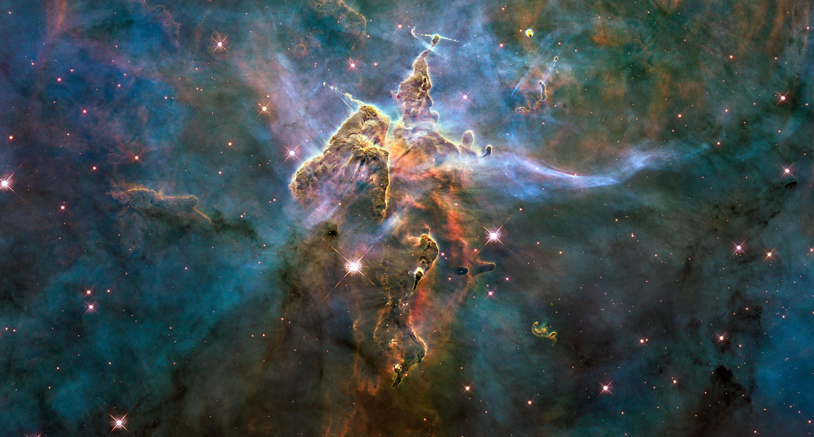 Picture by Hubble Space Telescope crop