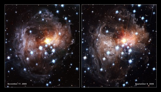 V838 Monocerotis light echo (HST, November 2005 and September 2006)
