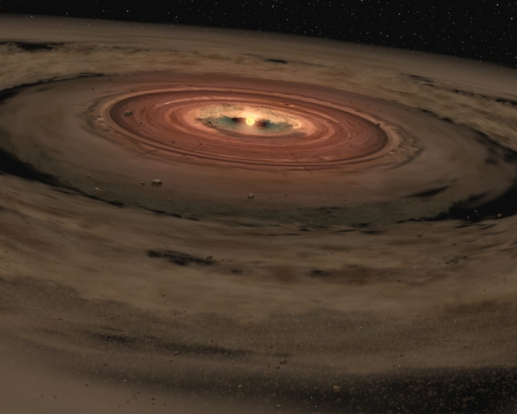 Brown dwarf OTS 44 with disc